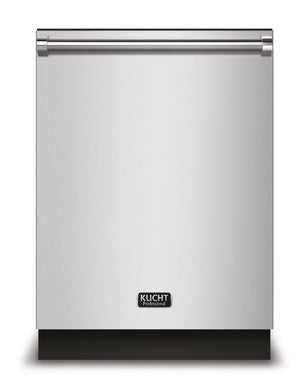 "Kucht 24"" Professional Top Control Dishwasher in Stainless Steel with Stainless Steel Tub, K6502D"