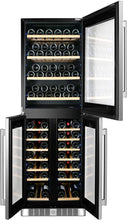 "Kucht Professional 24"" Triple Zone Wine Cooler (121 Bottle Capacity), K430AVH33"