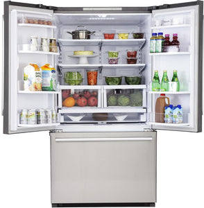 "Kucht Professional 36"" French Door Refrigerator 26.1 cu.ft. Stainless Steel, K748FDS test"