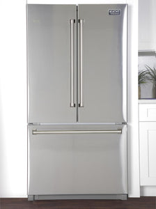 Kucht Professional 26.1 cu.ft. French Door Refrigerator in Stainless Steel, K748FDS
