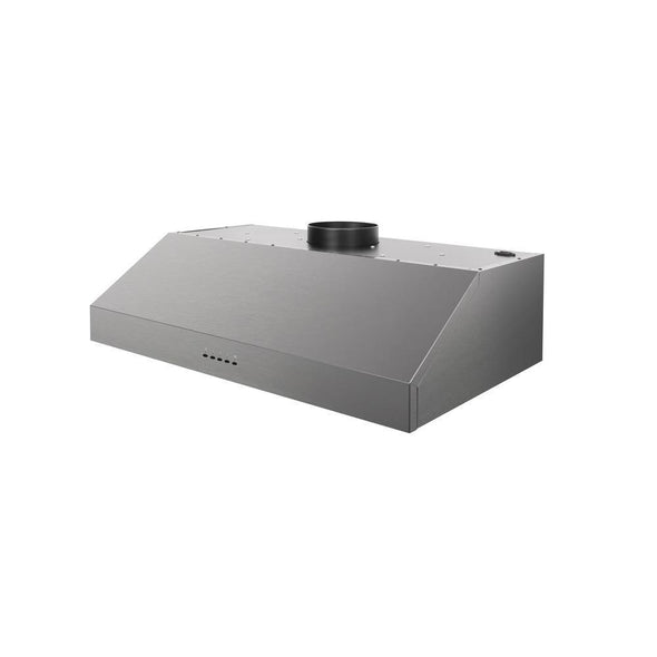 Thor Kitchen 36 in. Undercabinet Range Hood In Black Stainless Steel, HRH3609BS