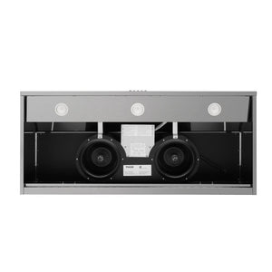 Thor Kitchen 48 in. Undercabinet Range Hood in Black Stainless Steel, HRH4809BS test