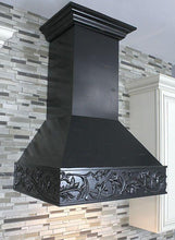 "ZLINE 36"" Designer Wooden Wall Mount Range Hood in Antigua, 373AA-36"