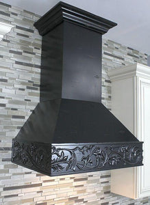 "ZLINE 36"" Designer Wooden Wall Mount Range Hood in Antigua, 373AA-36 test"