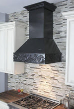"ZLINE 30"" Designer Wooden Wall Mount Range Hood in Antigua, 373AA-30"