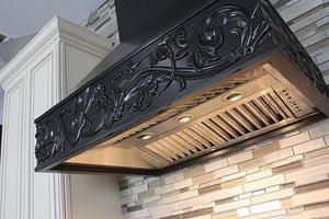 "ZLINE 30"" Designer Wooden Wall Mount Range Hood in Antigua, 373AA-30 test"