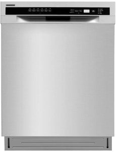 Lycan 24 in. Built-In Front Control Dishwasher in Stainless Steel with Pull Down Door, LDW2401SS