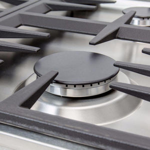 ZLINE 30 in. Dropin Cooktop with 4 Gas Burners RC30-4 test