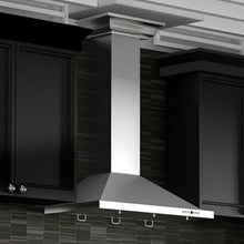 "ZLINE 42"" Stainless Steel Wall Range Hood, Crown Molding, KBCRN-42"