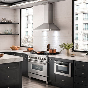 "ZLINE 48"" Stainless Steel Wall Range Hood with Built-in CrownSound® Bluetooth Speakers, KBCRN-BT-48 test"