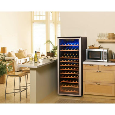 Danby Designer 75-Bottle Wine Cooler, DWC106A1BPDD