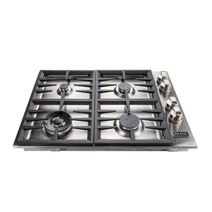 ZLINE 30 in. Dropin Cooktop with 4 Gas Burners RC30-1 test