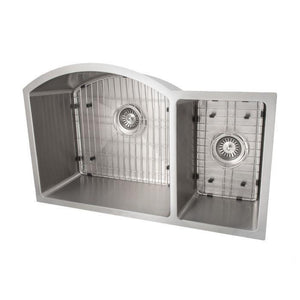 ZLINE Gateway Series 33 Inch Undermount Double Bowl Sink in Stainless Steel SC70D-33-1 test
