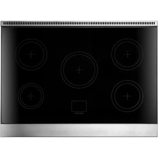 "AGA 36"" Stainless Steel 4.9 cu.ft. Induction and Electric Oven Range, AMPRO36IN-SS"