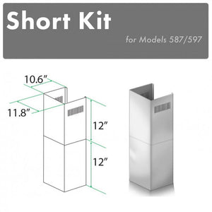 ZLINE Short Kit for 8ft. Ceilings (SK-587/597) test