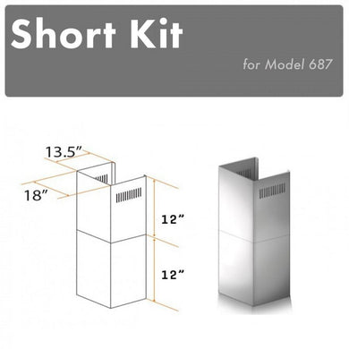ZLINE Short Kit for 8ft. Ceilings (SK-687)