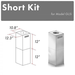 ZLINE Short Kit for Ceilings Under 8 feet ISLAND (SK-GL5i)