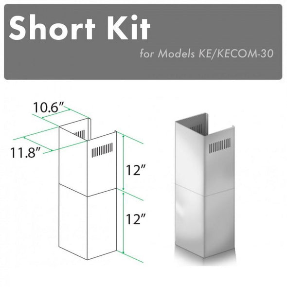 ZLINE Short Kit for 8ft. Ceilings (SK-KE/KECOM-30)