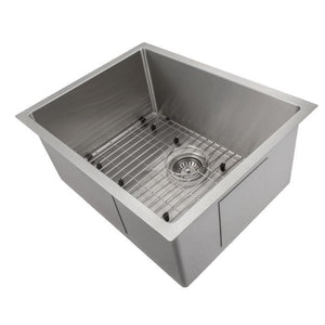 ZLINE Classic Series 23 Inch Undermount Single Bowl Sink in Stainless Steel SRS-23