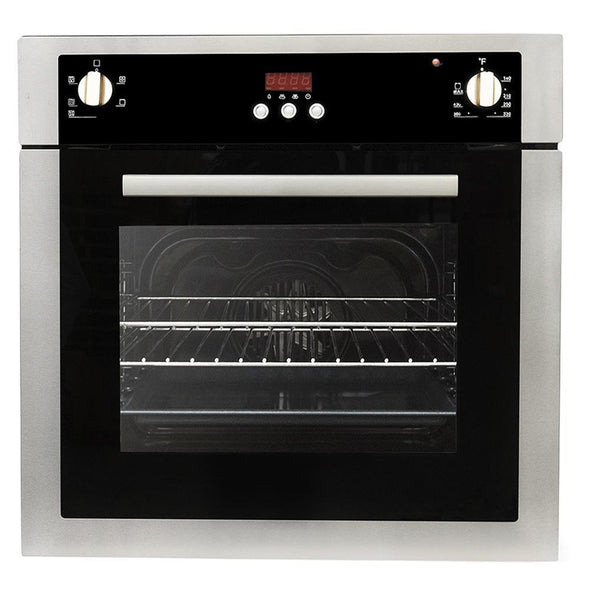 Cosmo 24 in. 2 cu. ft. Single Electric Wall Oven in Stainless Steel, C51EIX