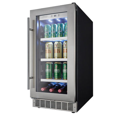 "Danby Silhouette Piedmont 15"" Single Zone Beverage Center, DBC031D4BSSPR"