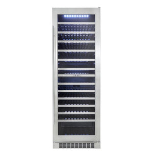 "Danby Silhouette Professional 24"" Built-in Dual Zone Wine Cooler, DWC140D1BSSPR test"