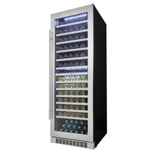 "Danby Silhouette Professional 24"" Built-in Dual Zone Wine Cooler, DWC140D1BSSPR"