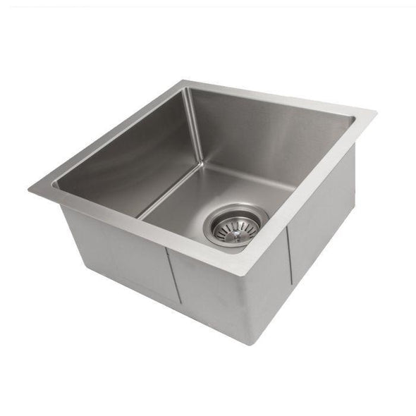 ZLINE Pro Series 15 inch Undermount Single Bowl Bar Sink in Stainless Steel SUS-15