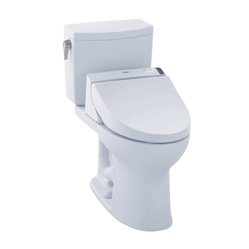 Toto Drake II 1.0 GPF Elongated Two Piece Toilet with C200 Bidet Seat, MW4542044CUFG#01