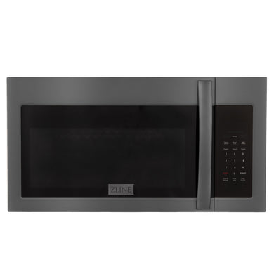 ZLINE Over the Range Microwave Oven in Black Stainless Steel, MWO-OTR-30-BS