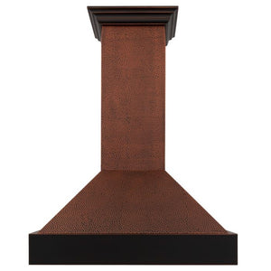 "ZLINE 36"" Hand-Hammered Copper Finish Wall Range Hood, 655-HBXXX-36"