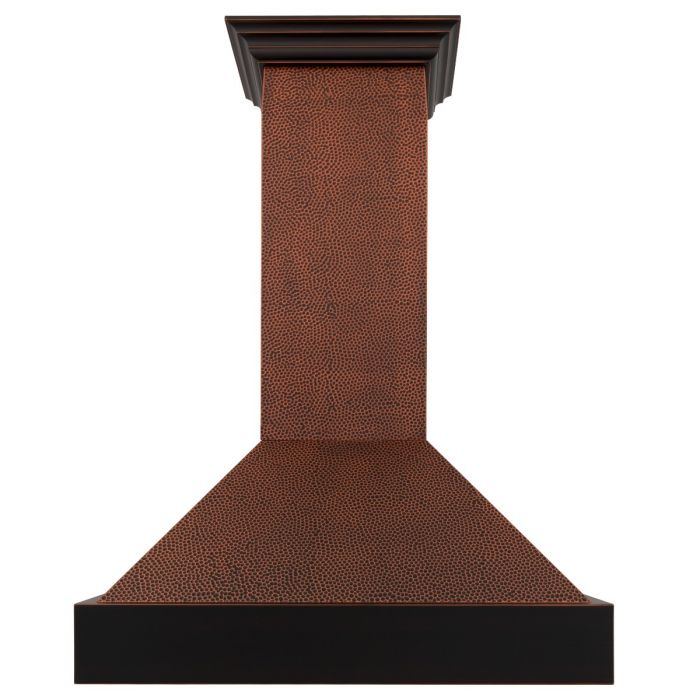 "ZLINE 42"" Hand-Hammered Copper Finish Wall Range Hood, 655-HBXXX-42"
