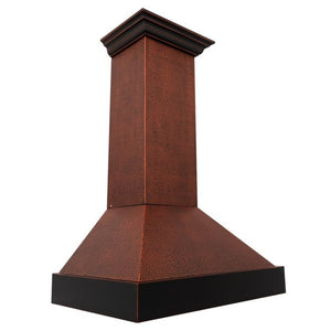 "ZLINE 30"" Hand-Hammered Copper Finish Wall Range Hood, 655-HBXXX-30 test"