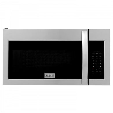 ZLINE Over the Range Convection Microwave Oven in Stainless Steel with Modern Handle and Sensor Cooking, MWO-OTR-30