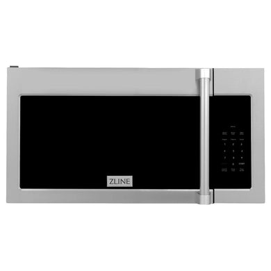 ZLINE Over the Range Convection Microwave Oven in Stainless Steel with Traditional Handle and Sensor Cooking, MWO-OTR-H-30