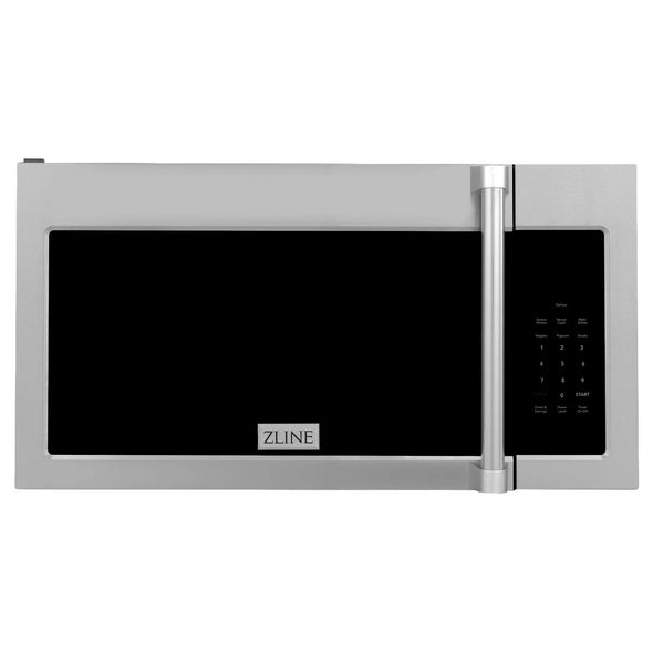 ZLINE Over the Range Microwave Oven in Stainless Steel with Modern Handle, MWO-OTR-H-30
