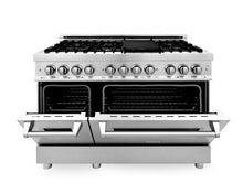 "ZLINE 48"" Professional Gas Burner/Electric Oven in Stainless Steel, RA48"