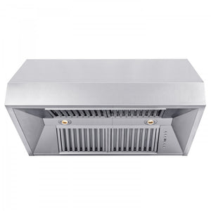 "ZLINE 36"" DuraSnow® Finished Under Cabinet Range Hood, 8685S-36"