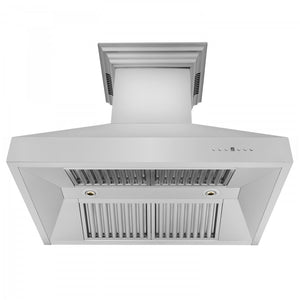 "ZLINE 36"" Stainless Steel Wall Range Hood with Built-in CrownSound® Bluetooth Speakers, 667CRN-BT-36 test"