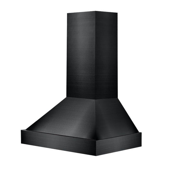 ZLINE 48 in. Black Stainless Steel Wall Mount Range Hood, BS655N-48