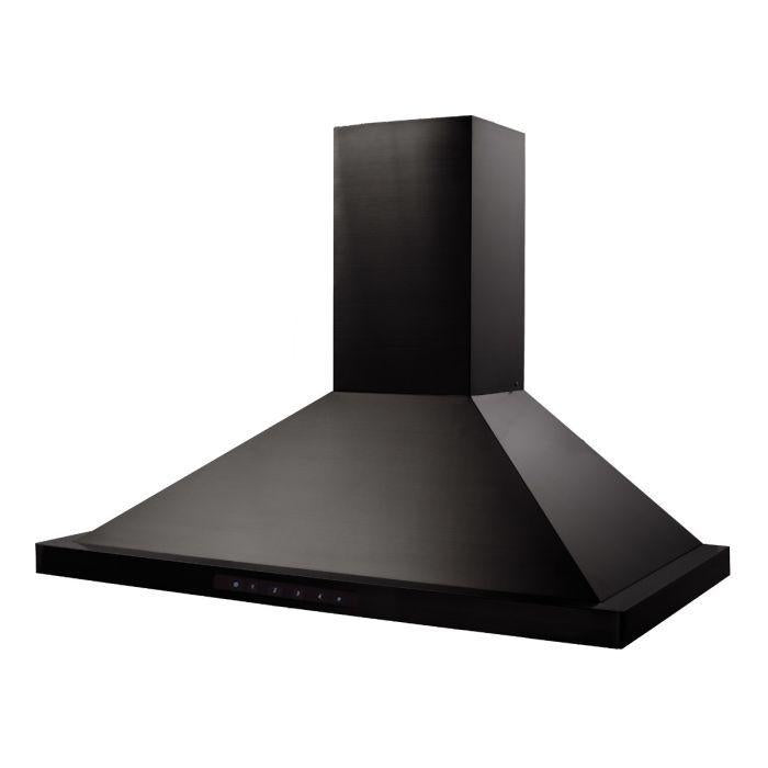 "ZLINE 30"" Black Stainless Steel Indoor Wall Range Hood, BSKBN-30"