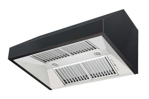 zline-black-under-cabinet-range-hood-8685b-side-under-vents test