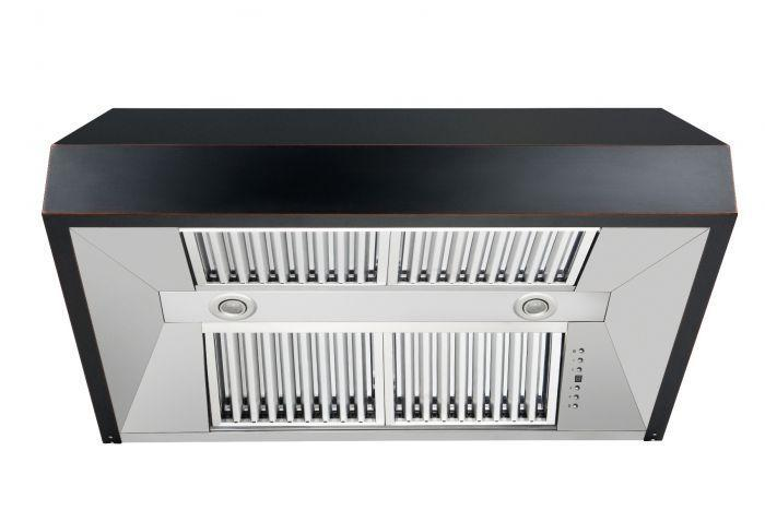 zline-black-under-cabinet-range-hood-8685b-vents
