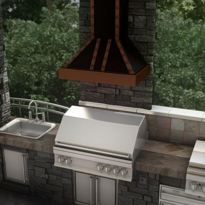zline-copper-wall-mounted-range-hood-655-bcccc-outdoor-2