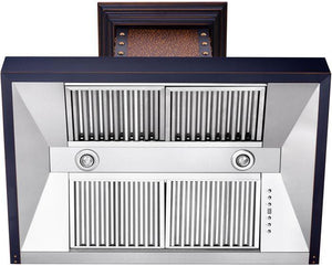 zline-copper-wall-mounted-range-hood-655-ebbbb-vent test