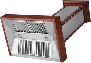 zline-copper-wall-mounted-range-hood-655-scccs-side-under test