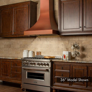 "ZLINE 42"" Designer Series Copper Finish Wall Range Hood, 8632C-42 test"