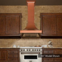 "ZLINE 30"" Designer Series Copper Finish Wall Range Hood, 8632C-30"