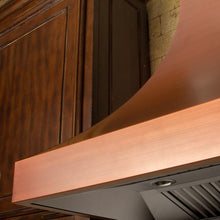 "ZLINE 42"" Designer Series Copper Finish Wall Range Hood, 8632C-42"