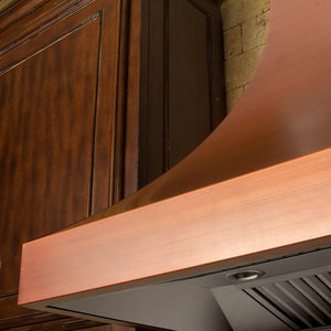 "ZLINE 36"" Designer Series Copper Finish Wall Range Hood, 8632C-36 test"